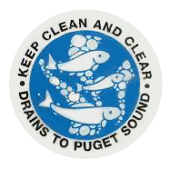 Keep Clean and Clear - Drains to Puget Sound